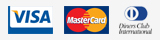 credit cards Visa and Mastercard