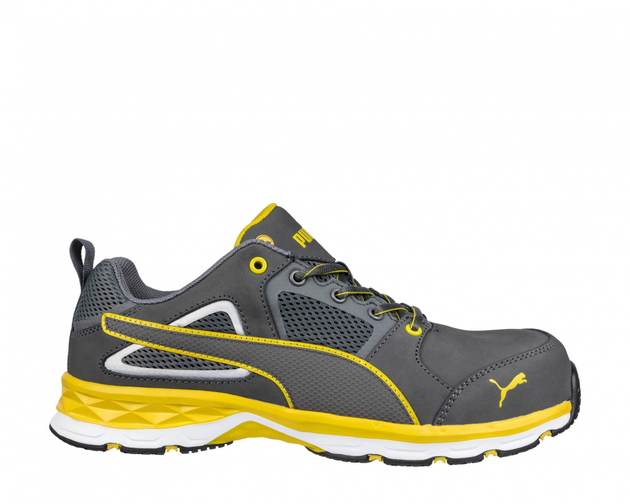 f4e97c6397f PUMA 643800 PACE 2.0 YELLOW LOW safety shoes S1P ESD HRO SRC ...