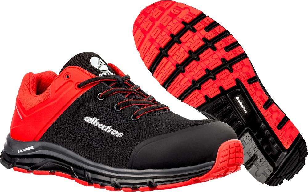 chaussures de séparation 4eb8f 0ee7b Albatros® 646600 Lift Impulse Low, chaussures de sécurité rouges S1P