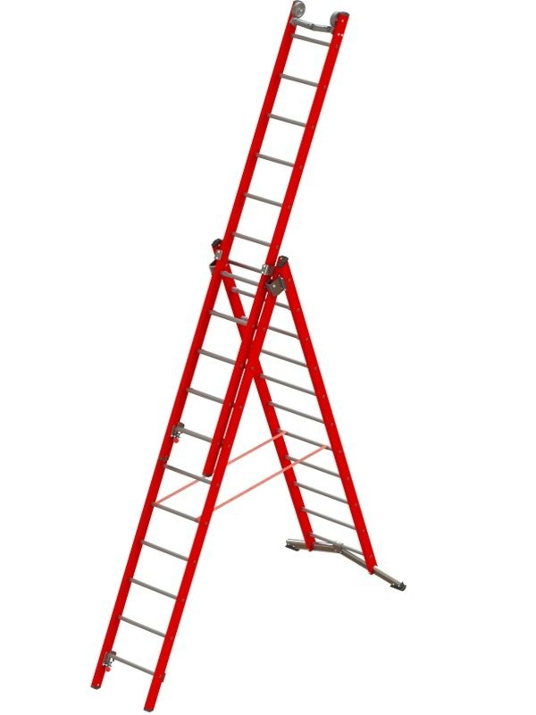 Helios® TRF Insulating Ladder, 3 segments