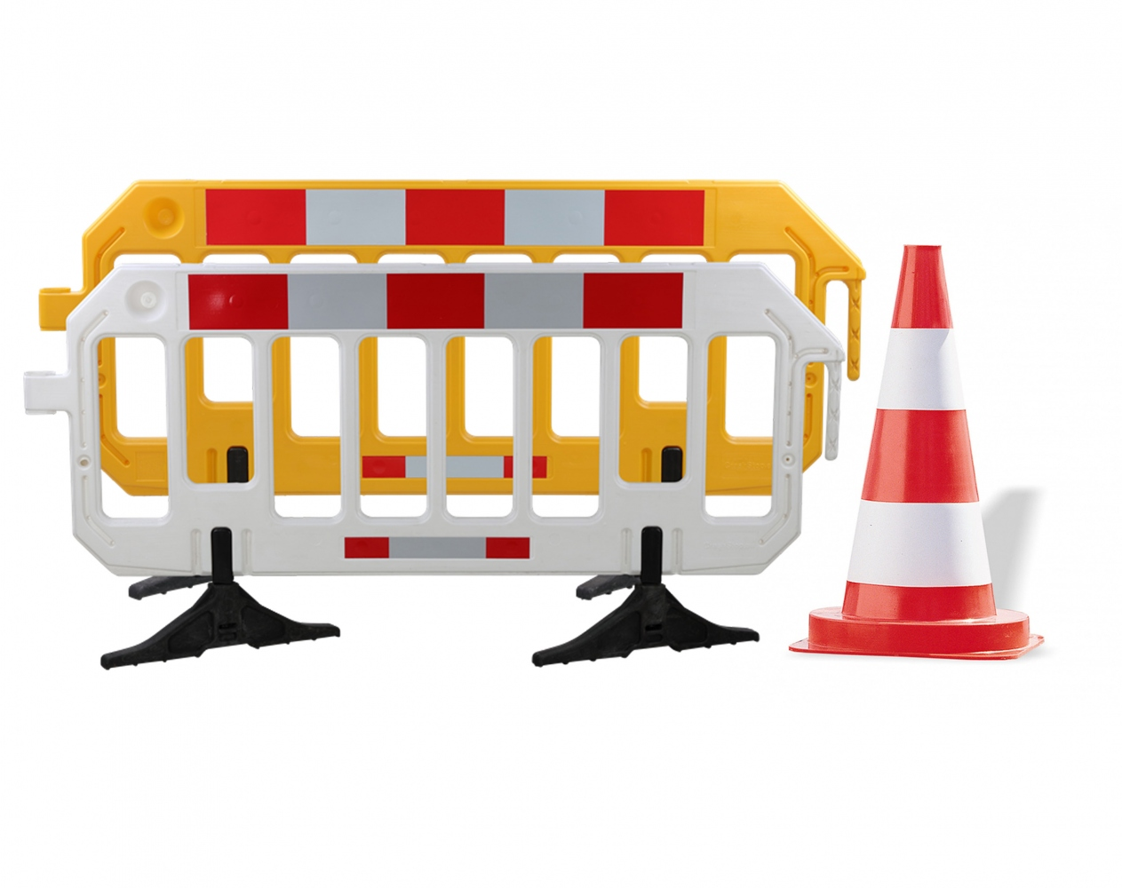 Barrier fences & Traffic guidance cones