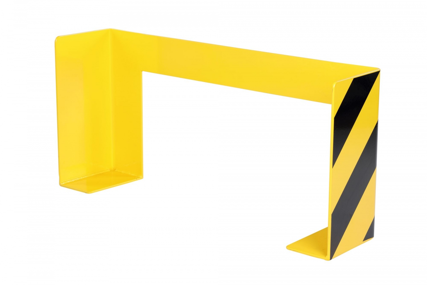 CRASH STOP 6270 Impact protection for long pallets, yellow-black