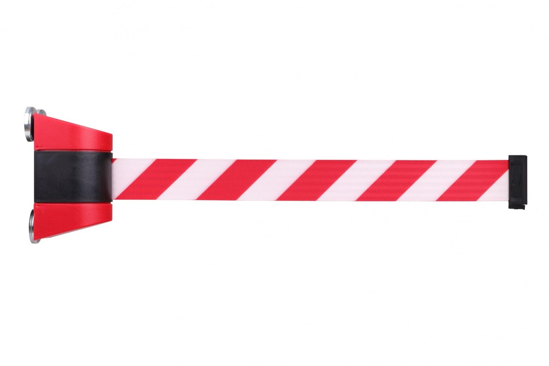 CRASH STOP MGB-GB / MGB-RW Magnetic retractable barrier, 4600 mm