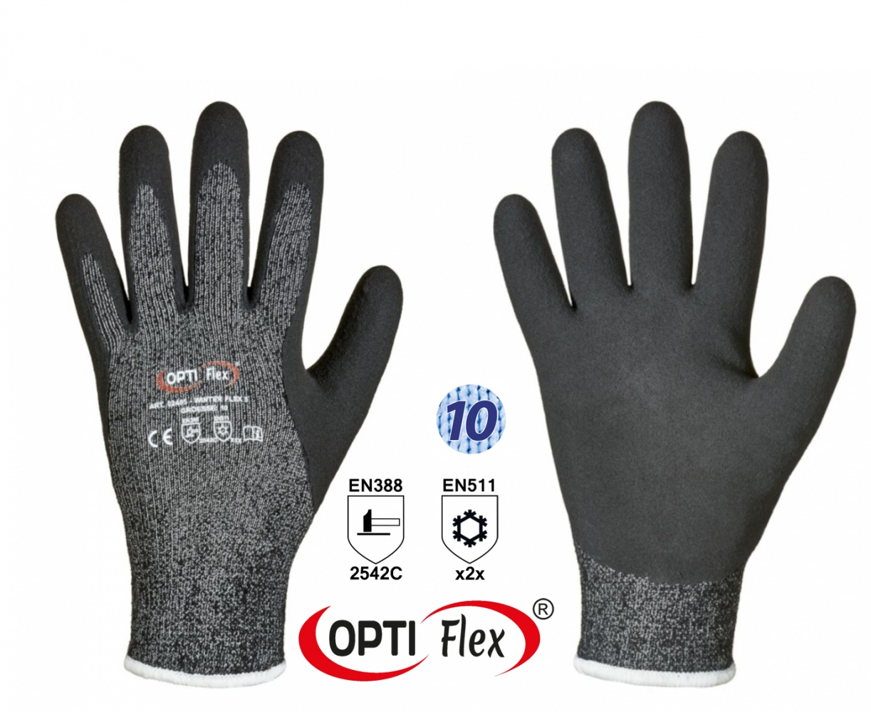 OPTIFlex 02485 WINTER FLEX 5 Premium cut resistant gloves
