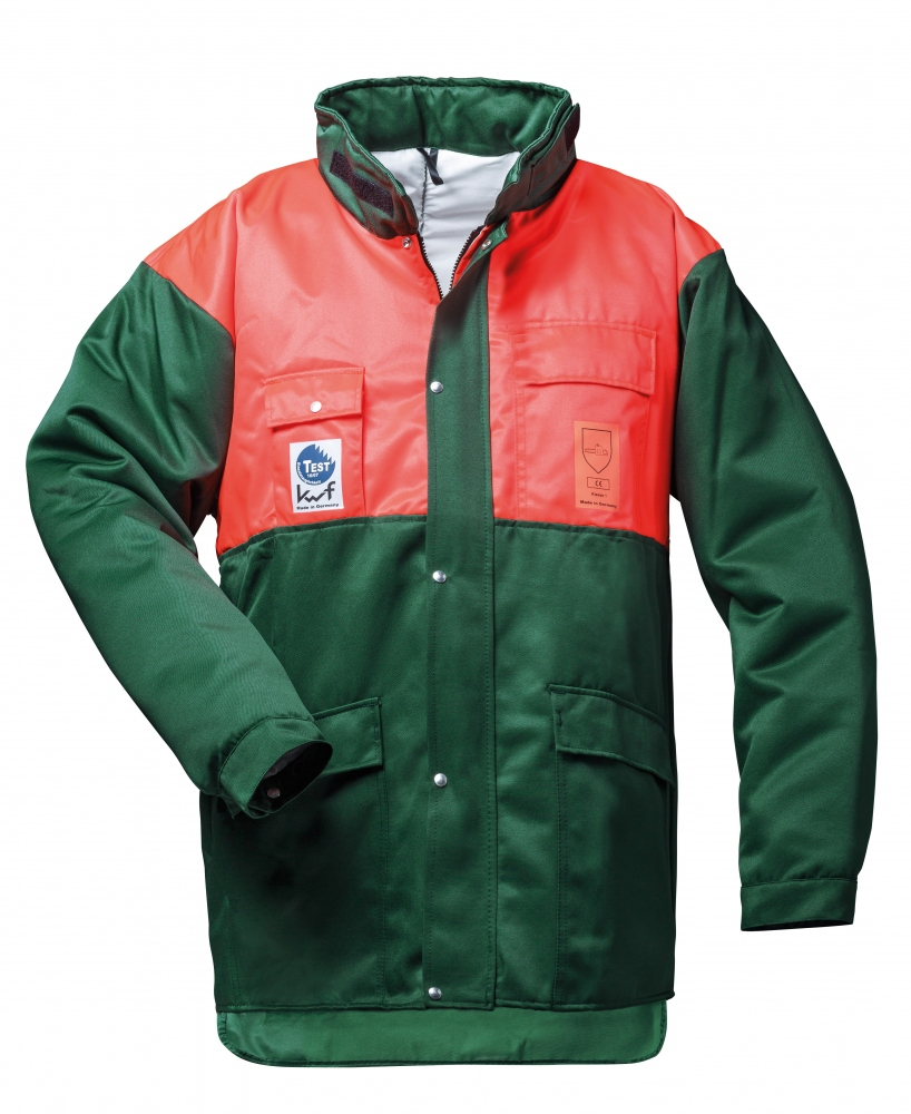 Forestry cut protection jackets