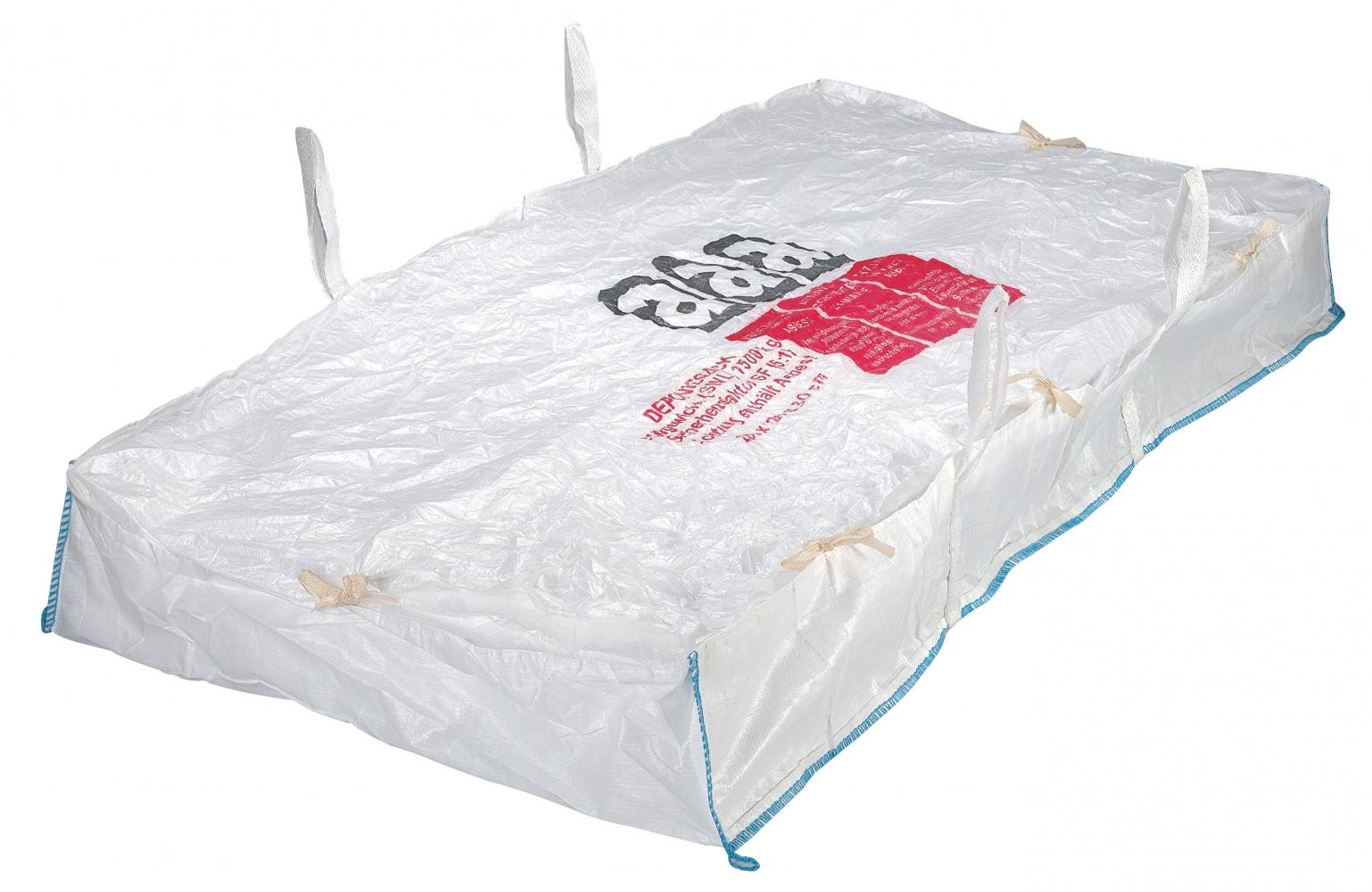 big bags 8478 slab bag asbestos 260 x 125 x 30cm. Black Bedroom Furniture Sets. Home Design Ideas