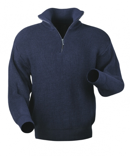 Craftland 2325 KALLE - Troyer Pullover - Navy blue - online ...