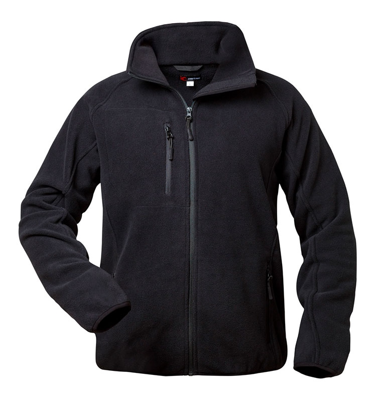 Micro Fleece Craftland 23322 Habicht Schwarze JackeAtmungsaktiv w8On0PkX