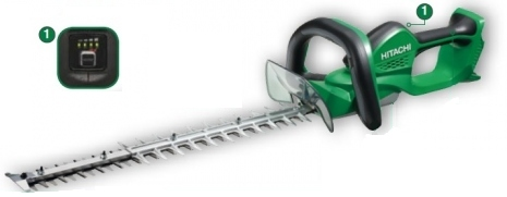 Hitachi ch36dl 36v cordless hedge trimmer online for Taille haie ryobi 36v