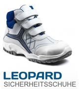 Leopard Safety Shoes