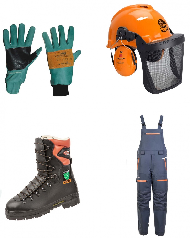 Forestry protective clothing