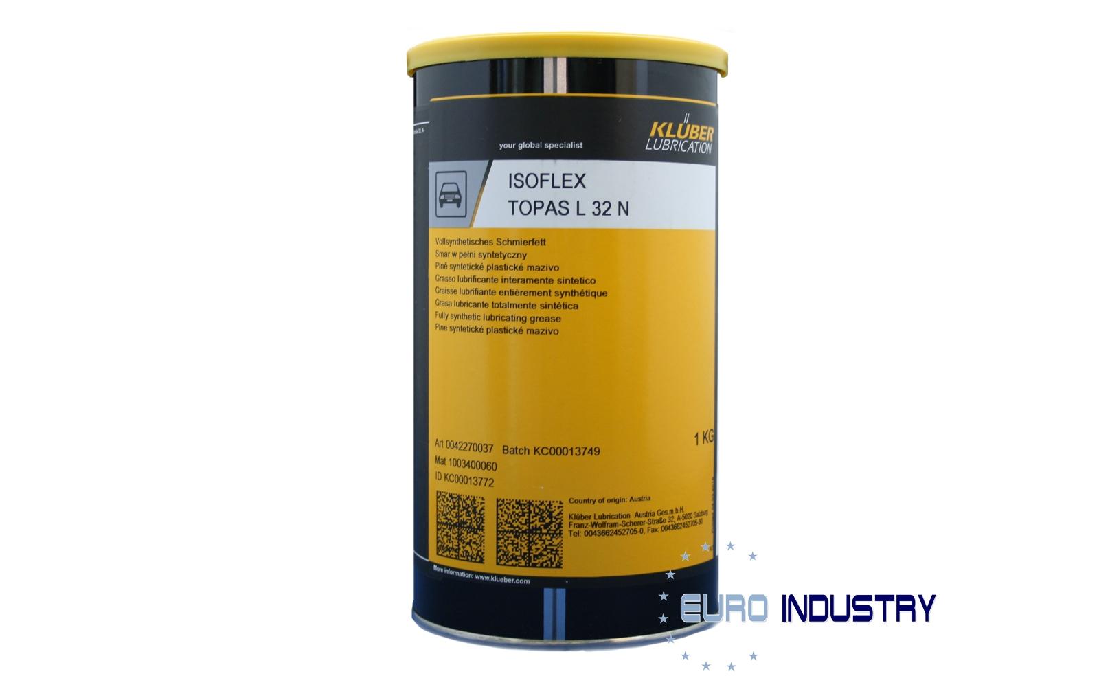 Klüber ISOFLEX TOPAS L 32 N Special low-temperature grease 1 KG