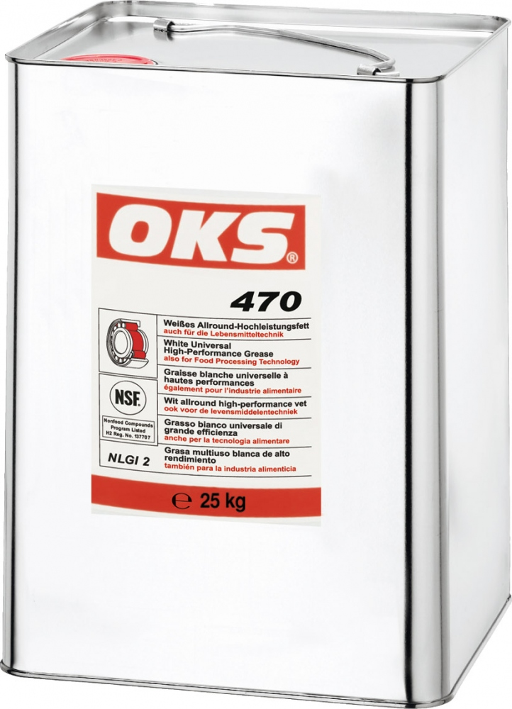 OKS 470 white universal high-performance grease 25kg hobbock