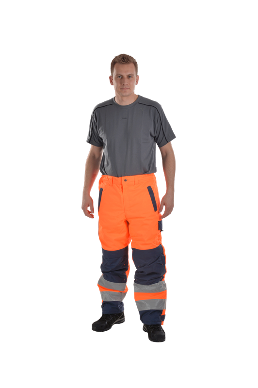 High visibility trousers / dungarees