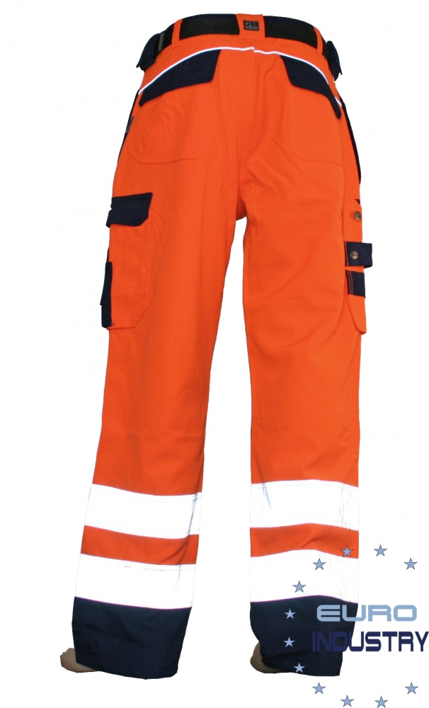 pics/Ocean/E.I.S. Copyright/ocean-80-1299-thor-work-wear-high-visibility-warnschutzhose-orange-back.jpg