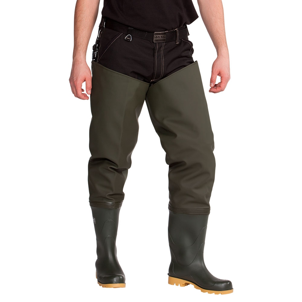 pics/Ocean/group-8/ocean-070004-deluxe-thigh-waders-with-safety-boots-olive.jpg