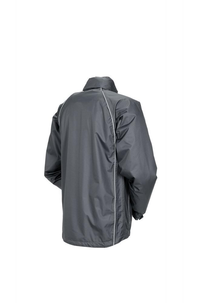 Planam Outdoor Regen Herren Monsun Jacke grau Modell 1472