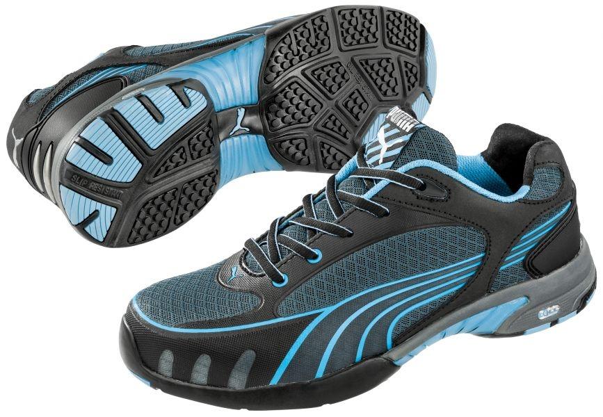 Puma 642820 FUSE MOTION BLUE WNS LOW Miss Safety Lady safety shoes S1. pics  Puma Miss Safety puma-642820-paar.jpg c2fe47bd2