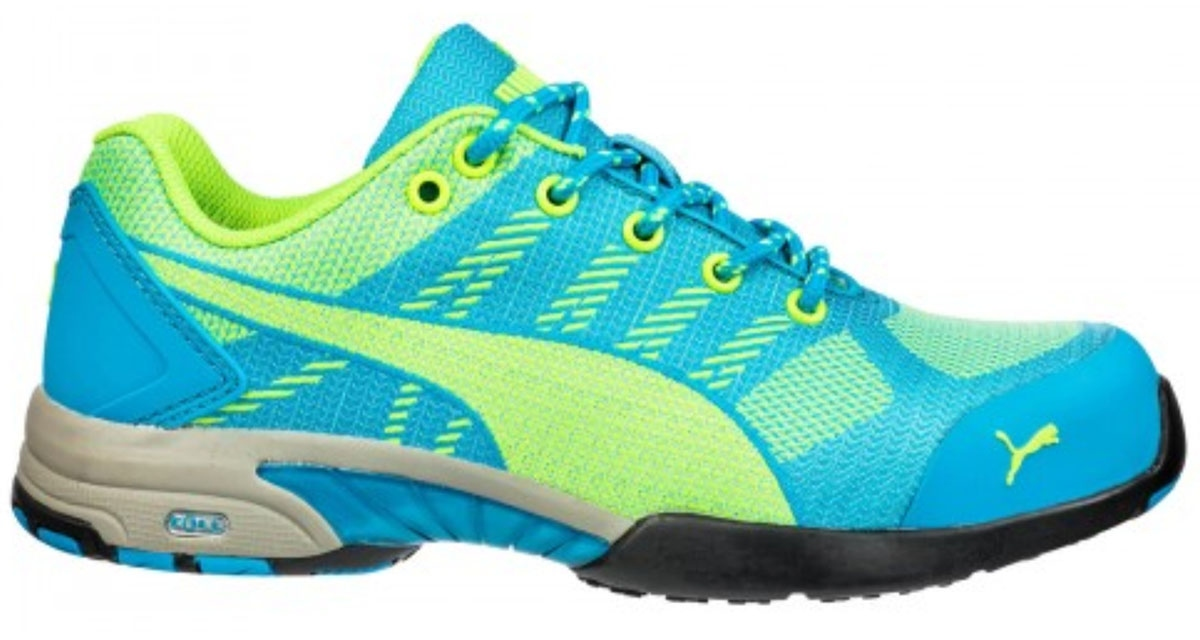 PUMA Safety Celerity Knit Blue Wns Low 642900 42