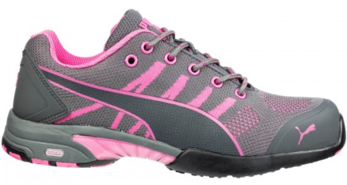 low priced c697f 90f2e Puma 642910 CELERITY KNIT PINK WNS LOW Damen Sicherheitsschuhe S1 HRO