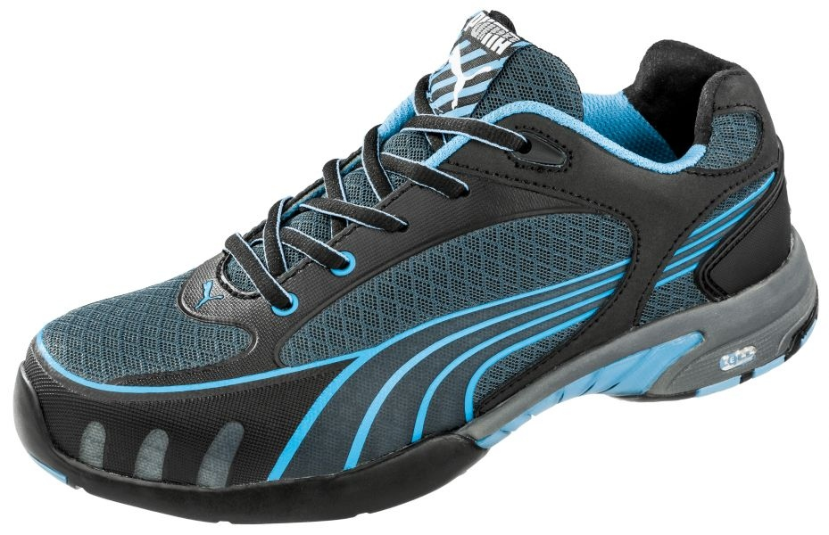 Puma 642820 FUSE MOTION BLUE WNS LOW Miss Safety Lady safety shoes ... 11aa44da1