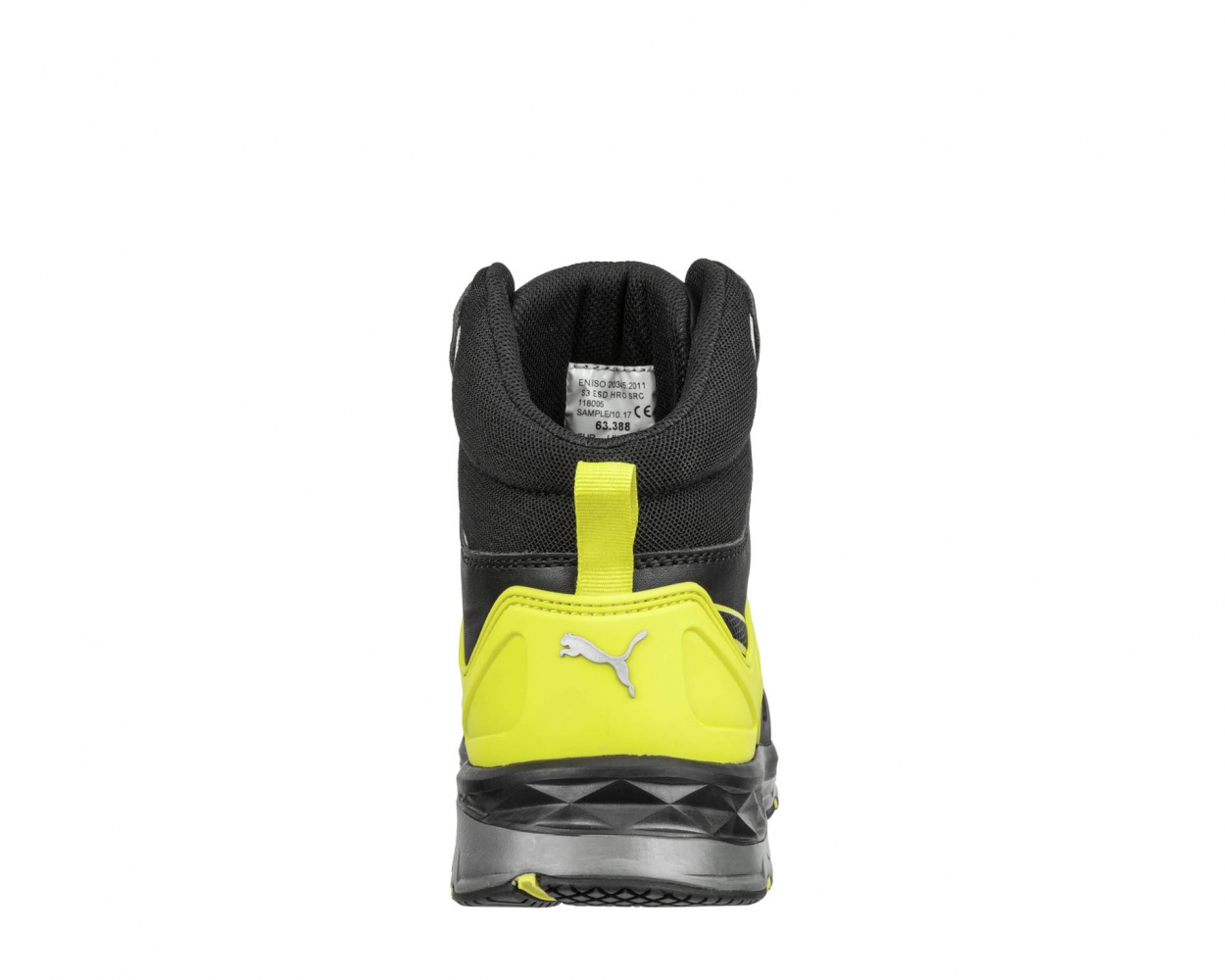 d4cb89d04f4 PUMA 633880 VELOCITY 2.0 YELLOW MID Safety boots S3 ESD HRO SRC ...
