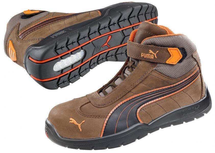 nouveau produit f4857 11613 Puma 632180 Indy Mid Moto Protect, High safety Shoes S3 HRO