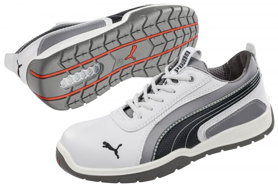 Couleurs variées d33fa 15ef0 Puma 642650 MONACO LOW Moto Protect Safety Shoes S3 HRO