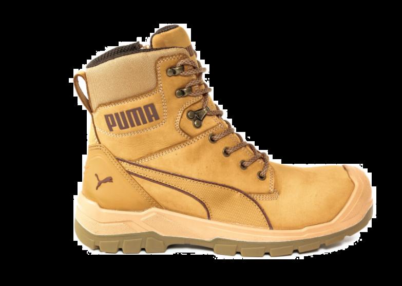 Puma 630650 CONQUEST WHEAT CTX HIGH Safety Shoes S3 WR HRO SRC ... 40804edf1