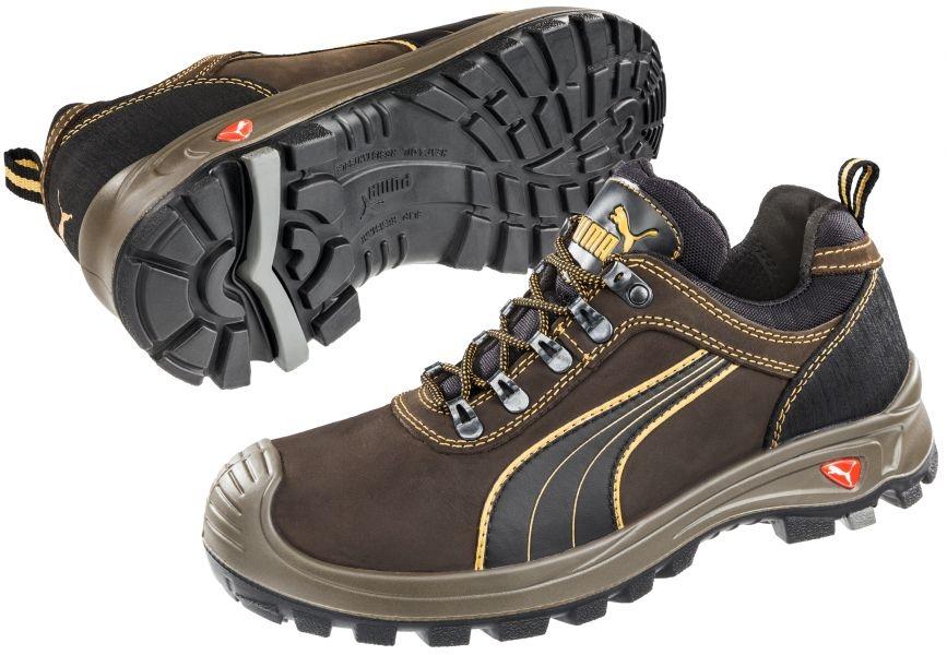 Puma 640730 Sierra Nevada Low Scuff Caps Safety Shoes S3 HRO ... 4ef2b1234