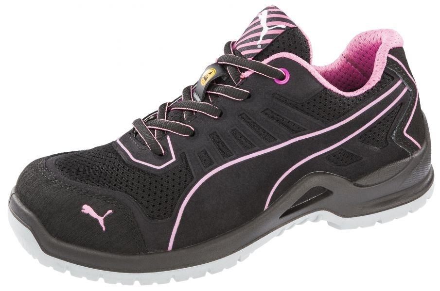 Chaussures De 644110 Puma Fuse Tc S1p Esd Pink Wns Dames Low Sécurité PkuOXZi