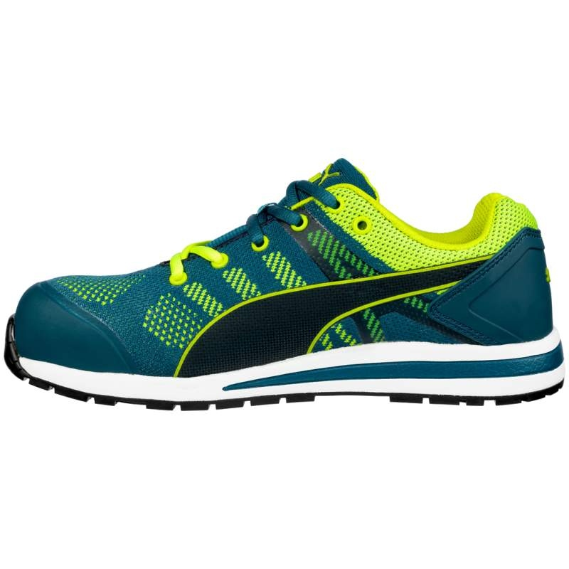 Puma 643170 ELEVATE KNIT GREEN LOW safety shoes S1P ESD HRO SRC