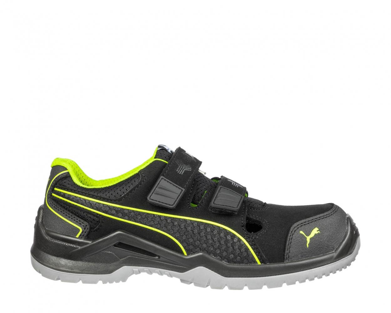 Puma 644300 NEODYME GREEN LOW Technics Line Safety shoes S1P ESD SRC