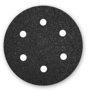 50 MENZER Klett-Schleifscheiben Exzenterschleifer 150 mm 6-Loch K40-400