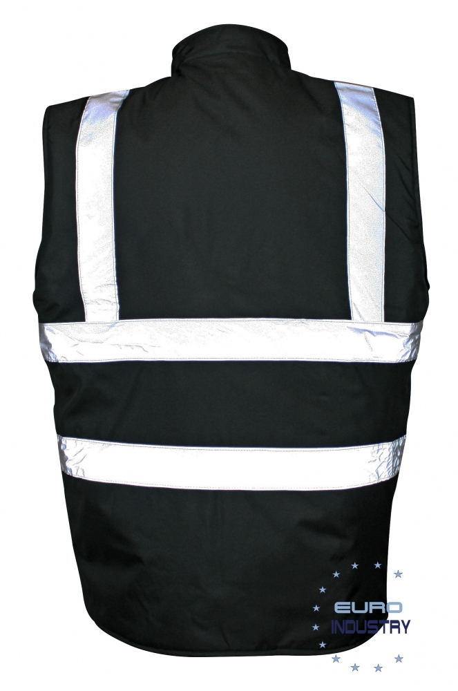 pics/Standsafe/E.I.S. Copyright/standsafe-hv010-security-bodywarmer-black-back.jpg