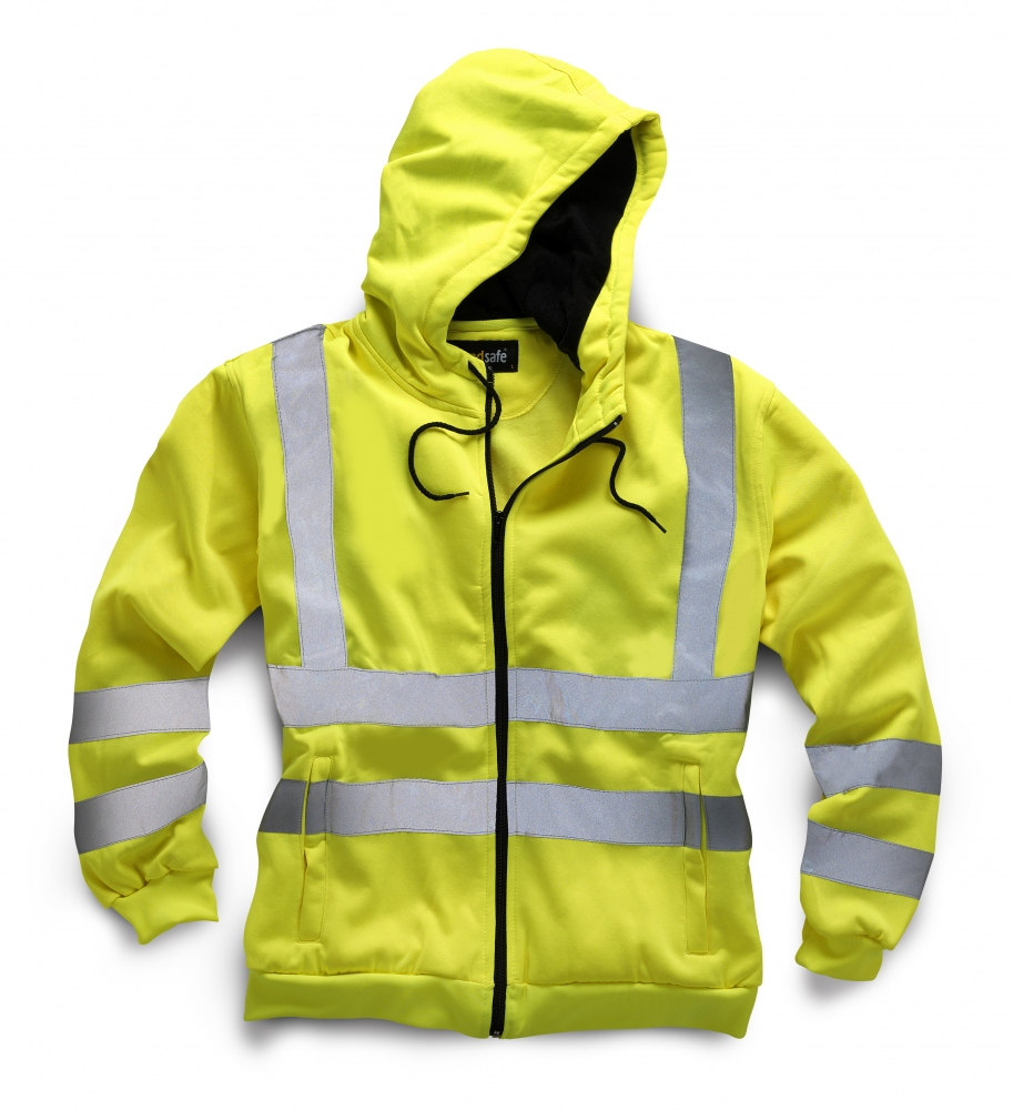 Standsafe HV040 HIGH VISIBILITY TWO TONE SWEATSHIRT Yellow