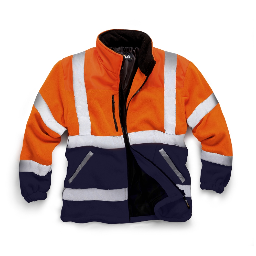 pics/Standsafe/standsafe-hv038-orange-hi-vis-two-tone-fleece-jacket-navy.jpg