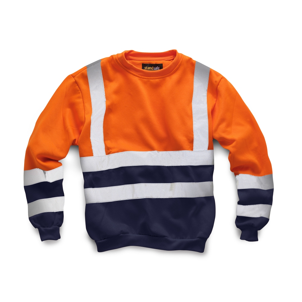 pics/Standsafe/standsafe-hv040-orange-hi-vis-two-tone-sweatshirt-navy.jpg