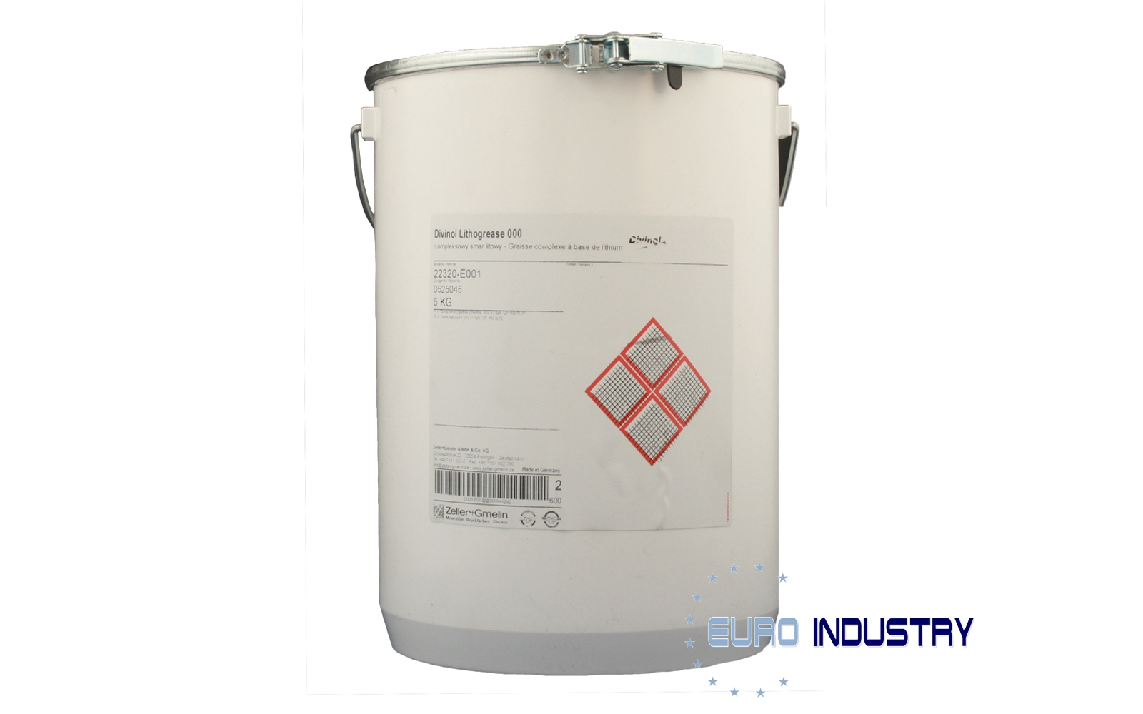 Divinol Lithogrease 000 High quality lithium complex soap grease 5kg